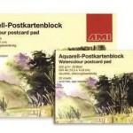 AMI_watercolour_postcard_pads
