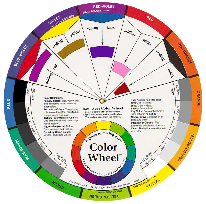 The Color Wheel 23cm