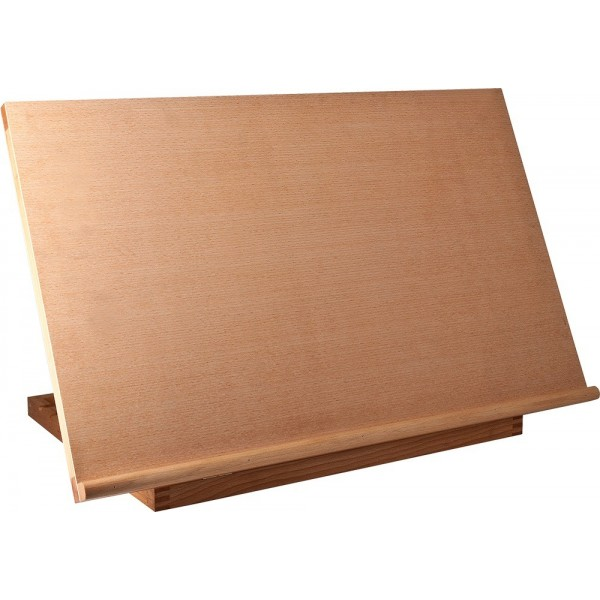 Reeves Wooden Desk Easel – Book Stand BIG