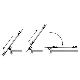 Table Easel Clamp On 2